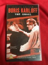 THE GHOUL VHS PAL WIDESCREEN SPECIAL EDITION Karloff