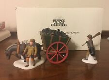 Dept 56 Heritage Village Collection Delivering Coal To The Hearth 58326