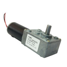 Electric Worm Gear Motor 12VDC Variable Speed 27 Rpm Gearmotor with Self-locking