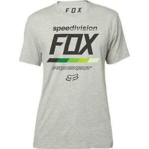 Fox Racing Pro Circuit Draftr Premium Tee T-Shirt Grey