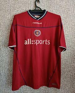 Heart of Midlothian 2002 Hearts Football Shirt Soccer Jersey Mens Size 2XL