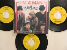LOT OF 4 ' THE YARDBIRDS ' HIT 45's+1P(Copy)[I'm A Man]*  THE 60's!