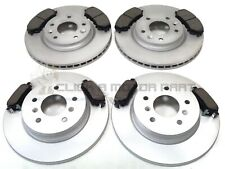 FOR NISSAN QASHQAI (J11) 2014-2019 FRONT & REAR BRAKE DISCS AND PADS SET
