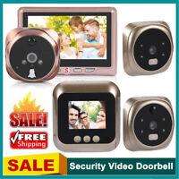 4.3'' LCD Digital Video Door Viewer Peephole Security Door Eye Monitoring Camera