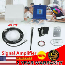 LCD Display 4G LTE 800-2700mhz Band 7 Mobile Phone Signal Booster Amplifier