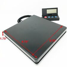 DIGITAL SHIPPING SCALE POSTAL PARCEL SCALE 110 LBS CAPACITY w/ AC ADAPTER