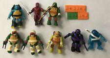 Lot of 8 Mega Bloks Construx Teenage Mutant Ninja Turtles Series
