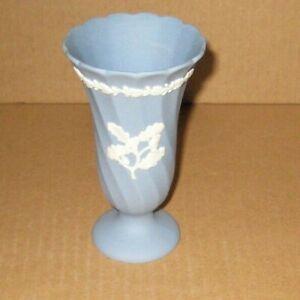 Wedgwood Jasperware Twisted Acorn Vase