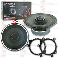 BRAND NEW KENWOOD EXCELON 6.5-INCH 2-WAY CAR AUDIO COAXIAL SPEAKERS (PAIR)