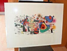 Joan Miro Ceramiques (la Fete, grand Composition) Abstrakte Kunst, Kunst Druck
