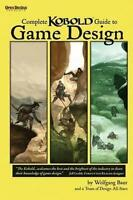 Complete Kobold Guide to Game Design, Brand New, Free P&P in the UK