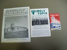 FARMING: FARMERS UNION POCKET GUIDE, ADA TIMELY TOPIX, ELECTRIC  ASSOC PICKINGS