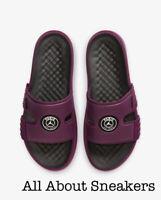 """Jordan Hydro 8 """"Bordeaux/Black/Whit"""" Men's Slippers Flip Flops Sliders All Sizes"""