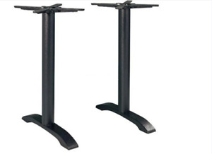 Cast Iron Twin Leg Table Base for coffee Shop And Restaurant