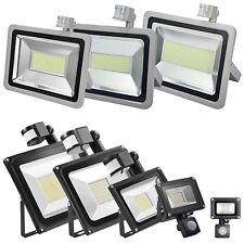 LED Floodlight PIR Motion 10W 20W 30W 50W 100W Security Outdoor Garden Lights