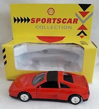 SHELL SPORTSCAR COLLECTION FERRARI 348TS CAR RED DIECAST BOXED