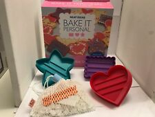 Neat Ideas Bake It Customised Cookie Set - Star, Heart, Rectangle Cutter Letters