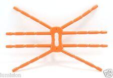 ORANGE Spider Flexible Grip Holder Stand Mount for iPhone SAMSUNG HTC LG Phone