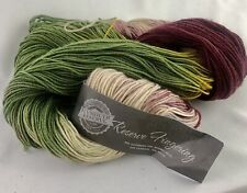 Plymouth Reserve Fingering Yarn Merino Wool Cashmere Apx 400 yards Apple Orchard