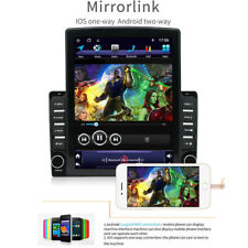 "1DIN Rotatable 10.1"" Android 9.1 HD 2GB+32GB Car Stereo Radio GPS Navi WiFi USB"