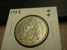1962 - Canada - Silver 50 cents - half dollar -