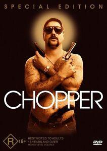 Chopper DVD Eric Bana New and Sealed Manufactured Australian Release