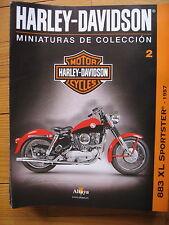 FASCICULE 2 MOTO COLECCION HARLEY DAVIDSON 883 XL SPORTSTER 1957