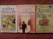 JOANNA TROLLOPE books~Other Peoples Children~Marrying theMistress~Village Affair