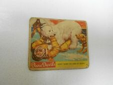 1933 National Chicle Dare Devils #9 Away From The jaws Of Death Polar Bear Gd+