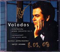 SACD Arcadi VOLODOS Signed TCHAIKOVSKY Piano Concerto 1 RACHMANINOV Seiji OZAWA