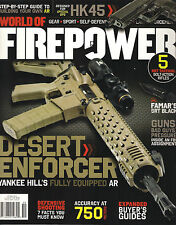 NEW! WORLD of FIREPOWER Issue 5 Oct/Nov 2013 Buyer's Guide Step by Build AR Guns