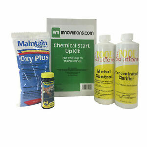 Pool Solutions Spring Start Up Chemical Opening Kit for Up To 10,000 Gallon Pool