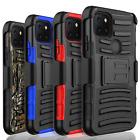 For T-Mobile Revvl 4 / Revvl 4 Plus / Revvl 5G Shockproof Belt Clip Case Cover