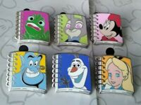Magical Mystery 2018 Character Notebook Set Series 13 Choose a Disney Pin