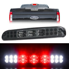 For 1999-2016 Ford F-250 F-350 LED Smoke Rear 3rd Third Brake Light Cargo Lamp