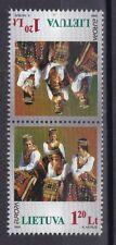 Litauen 1998 postfrisch Kehrdruck MiNr. 664 Europa Nationale Feste und Feiertage