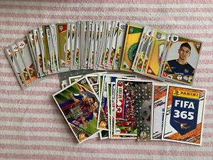 FIFA 365 2018 LOOSE STICKERS X 135 Different Pulisic Neymar Alisson ++ Free P&P