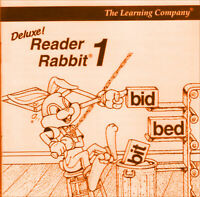 READER RABBIT DELUXE 1996 +1Clk Macintosh Mac OSX Install