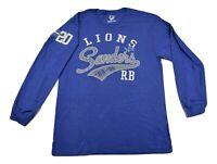Hands High Mens NFL Detroit Lions Barry Sanders Shirt New L