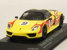 Porsche 918 Spyder Weissach Package Kyalami Racing Des 1:43 MINICHAMPS 410062134