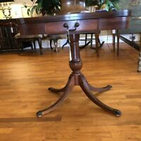 Antique Mahogany Swivel-Top Game Table