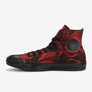 CONVERSE ALL STAR US BLACKBOTTOM HI Red Wash CHUCK TAYLOR from Japan NEW