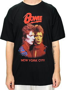 David Bowie NYC Unisex Official T Shirt Brand New Various Sizes Printed F&B