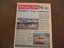 Motoring News 17 May 1989 Zlatni Piassatzi Rally GpA Sierra Cosworth RS Test