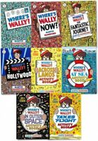 NEW Where's Wally? Wow! 8 Books Activity Set Amazing Adventures Martin Handford!