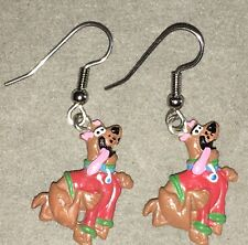 SCOOBY DOO EARRINGS  Surgical New Crime Solving Dog Pesky Kids (B)