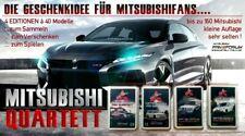 Das Mitsubishi Fan Quartett 1 ? 4 ( Komplettset )