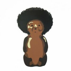 Afro Bear Painting by fnnch - Edition #21 of 25