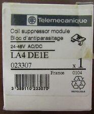 TELEMECANIQUE LA4 DE1E Coil Suppressor Module 24-48V