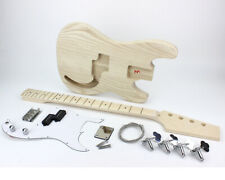 Pit Bull Guitars GPB-4M Electric Bass Guitar Kit (Ash body)